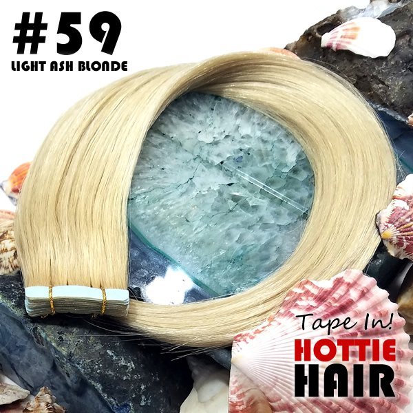 Light Blonde Remy Tape In Hair Extensions Las Vegas